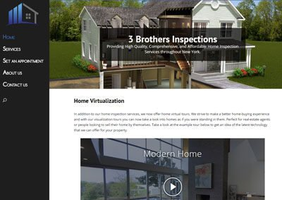 3 Brother Inspections Website