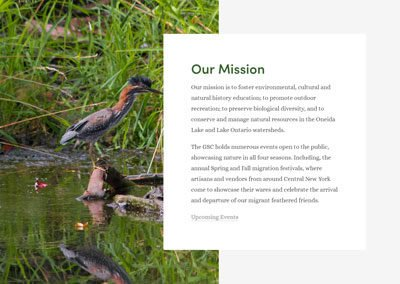 Great Swamp Conservancy Website
